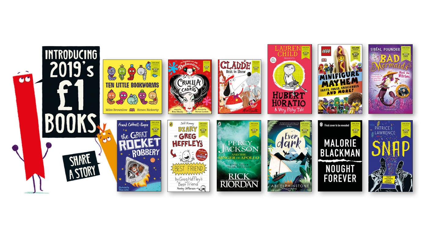 £1 books for World Book Day 2019