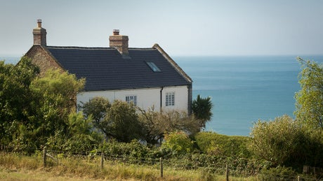 The exterior of Chesil Cottage, Dorset