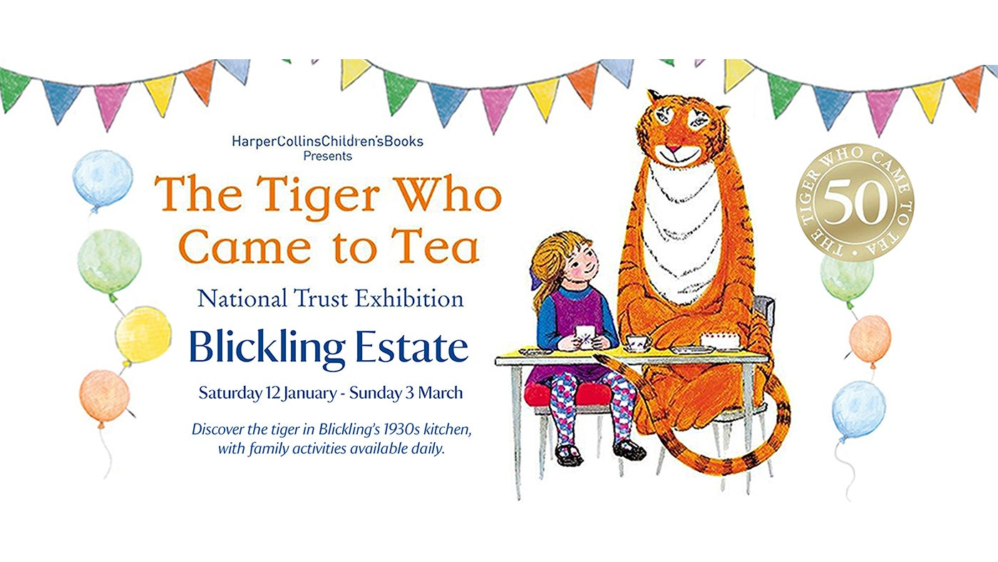 The Tiger on Tour comes to Blickling Estate.