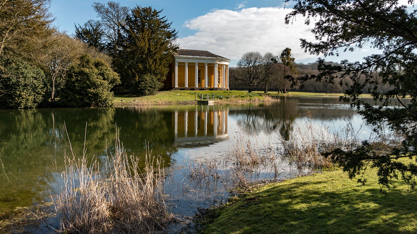 Temple of Music in West Wycombe Park