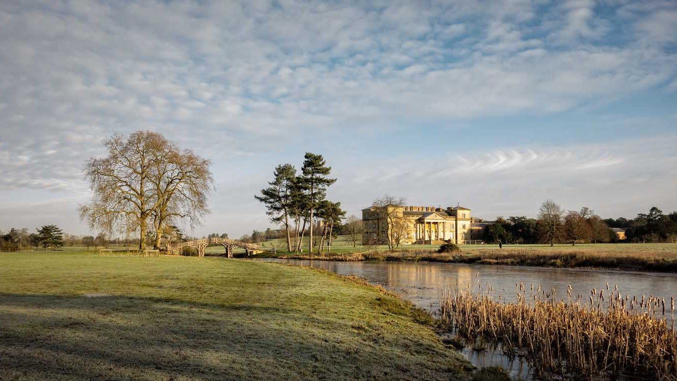 A quiet morning at Croome