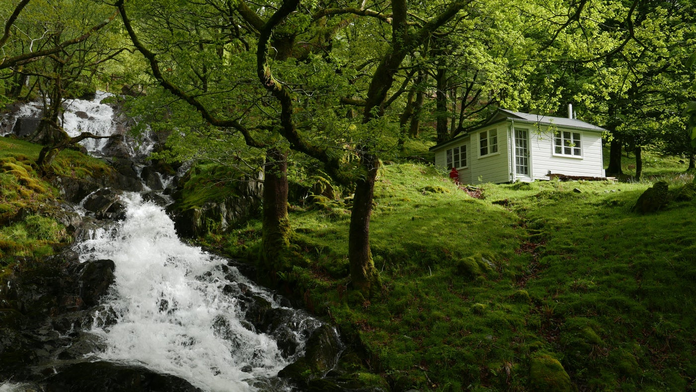 Chalet-style holiday cottage, Cartref at Hafod y Llan in Snowdonia, Wales