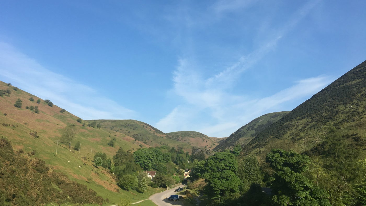 Spring in Carding Mill Valley