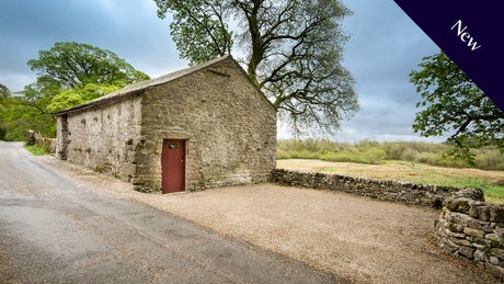 New bothy - The exterior of Meadowsweet Bothy, Settle, North Yorkshire