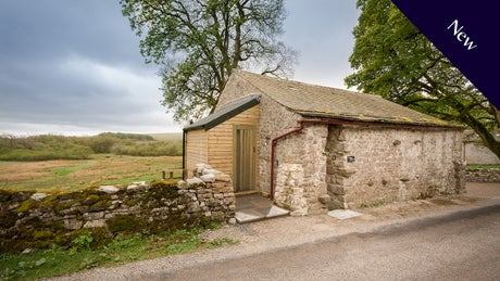 New bothy - The exterior of Ragged Robin Bothy, Settle, North Yorkshire