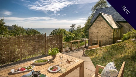 The Exterior of Compass Cottage, Devon