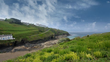 A view of Port Gaverne near The Beach House, Port Gaverne, Cornwall