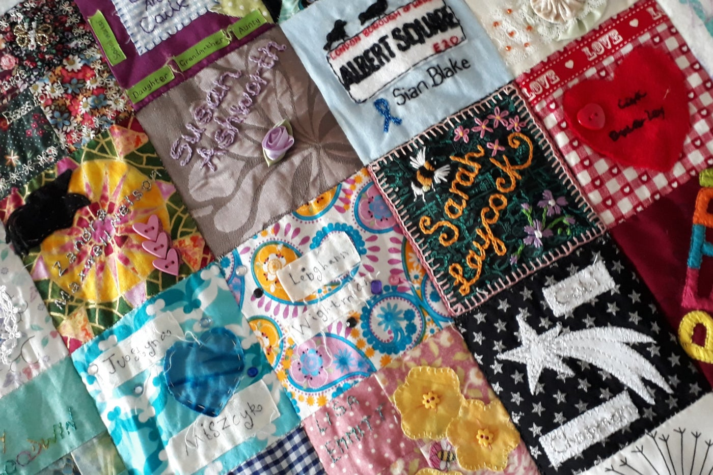 Why do women quilt? Other