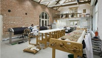 Interior of the National Trust Textile Conservation Studio