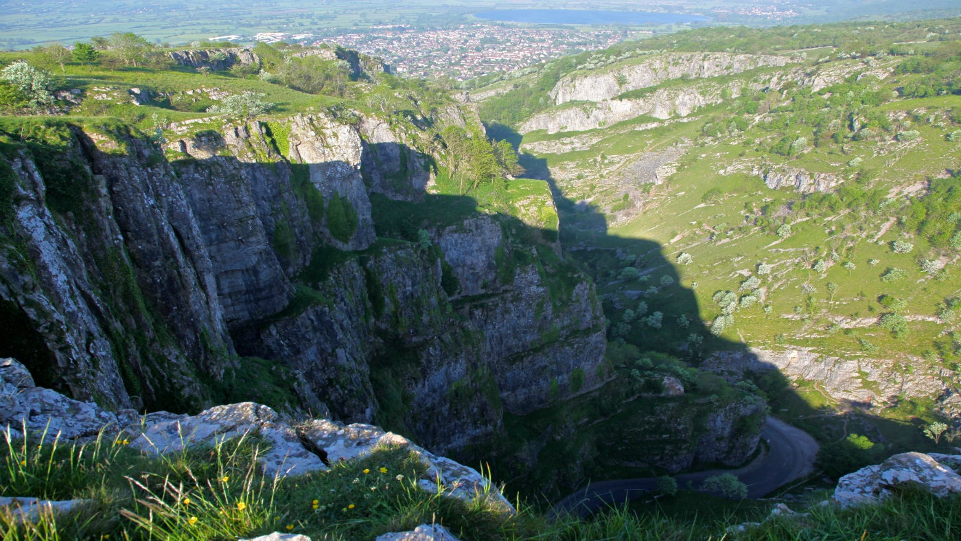 cheddar gorge national trust. Black Bedroom Furniture Sets. Home Design Ideas
