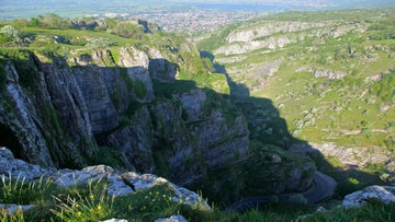 View from top of Cheddar Gorge