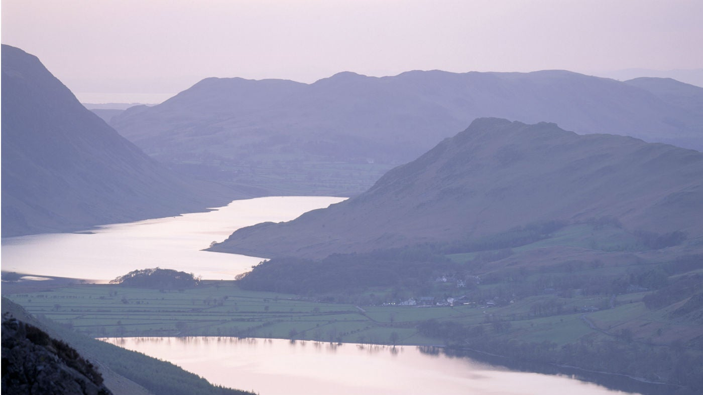 Buttermere and Crummock Water, Cumbria