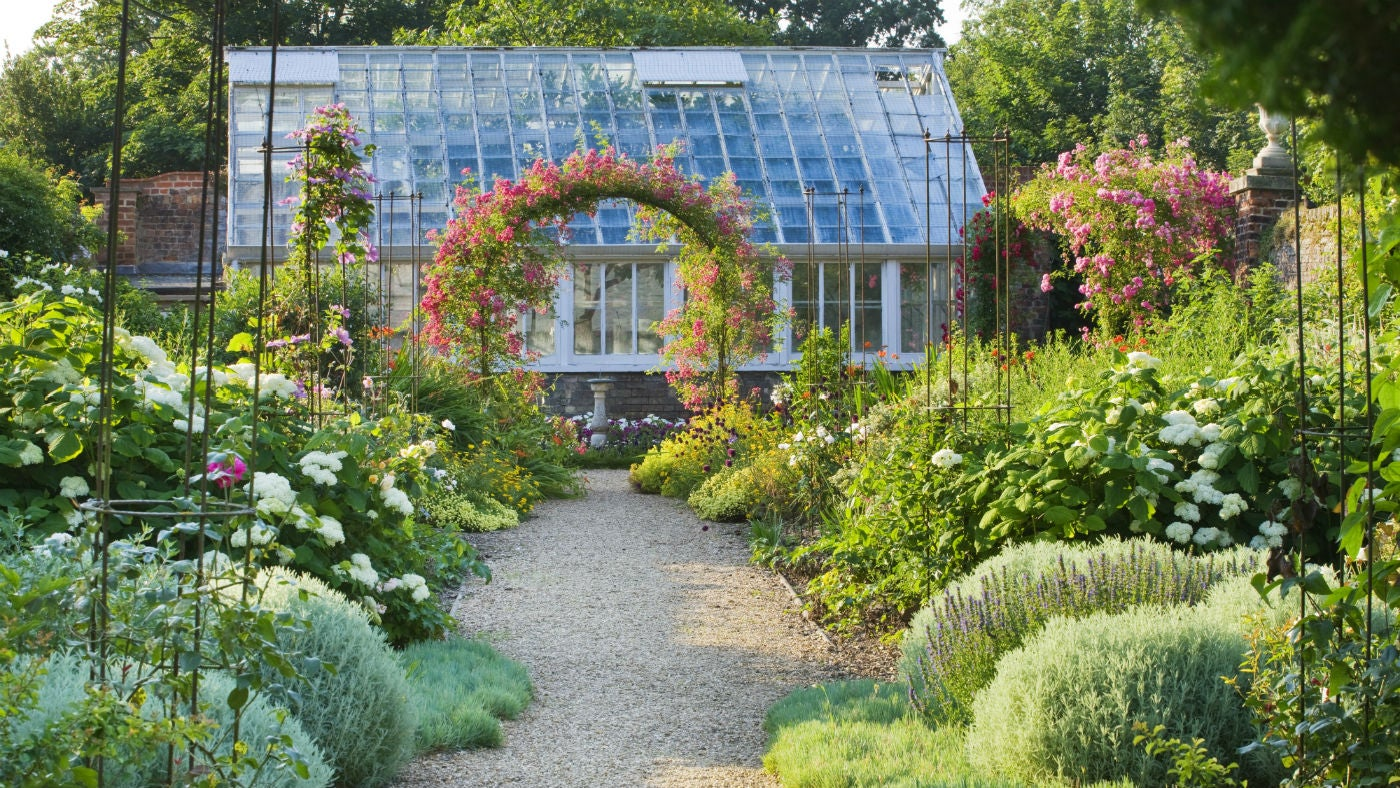 The Orangery in the Peckover garden