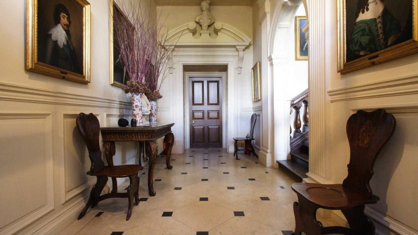 The entrance hall, Ashdown House, Berkshire