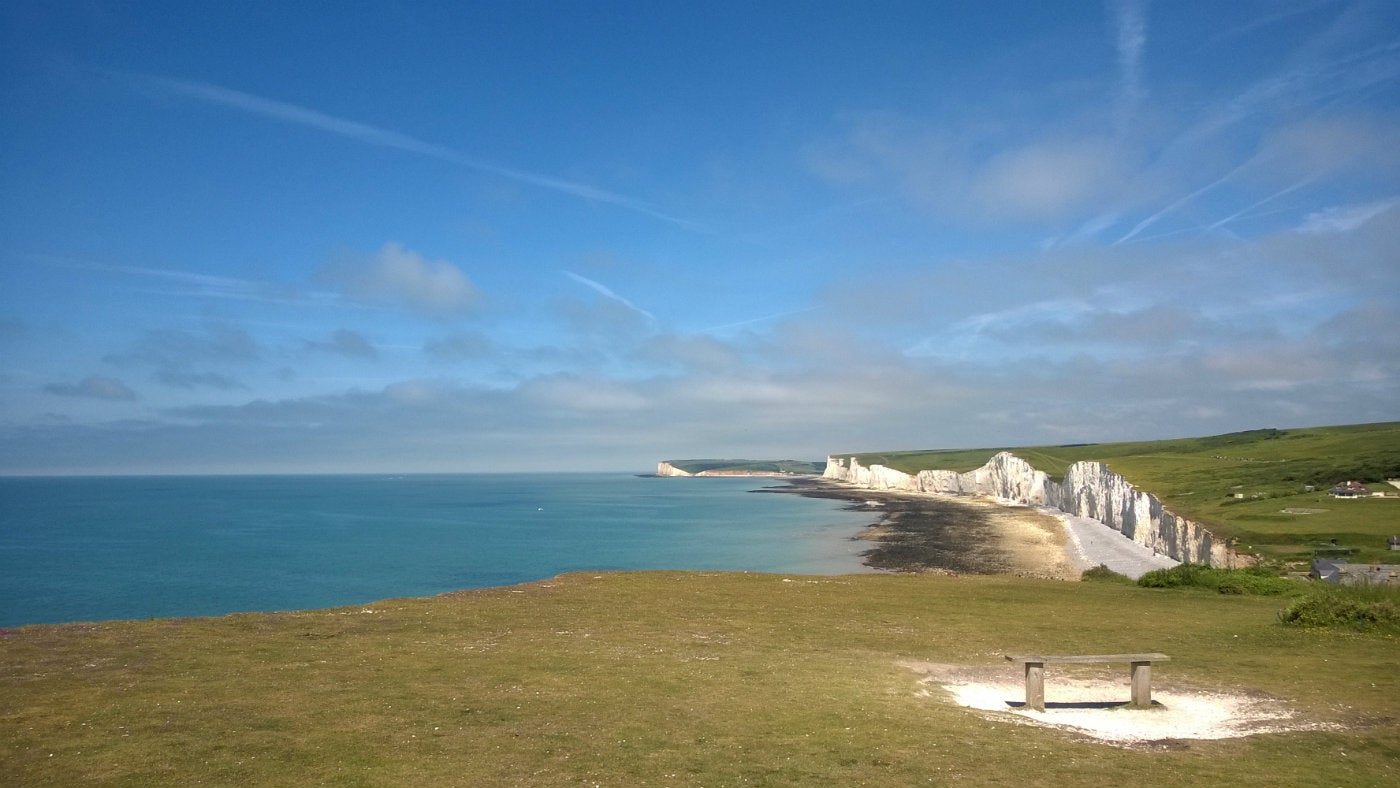 Seven Sisters sea view, Sussex