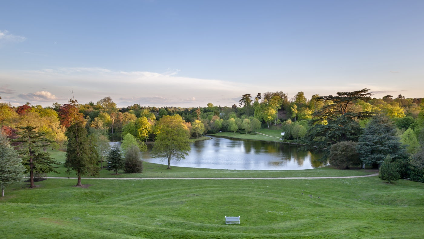 Gardens and parks in surrey national trust for Landscape gardeners