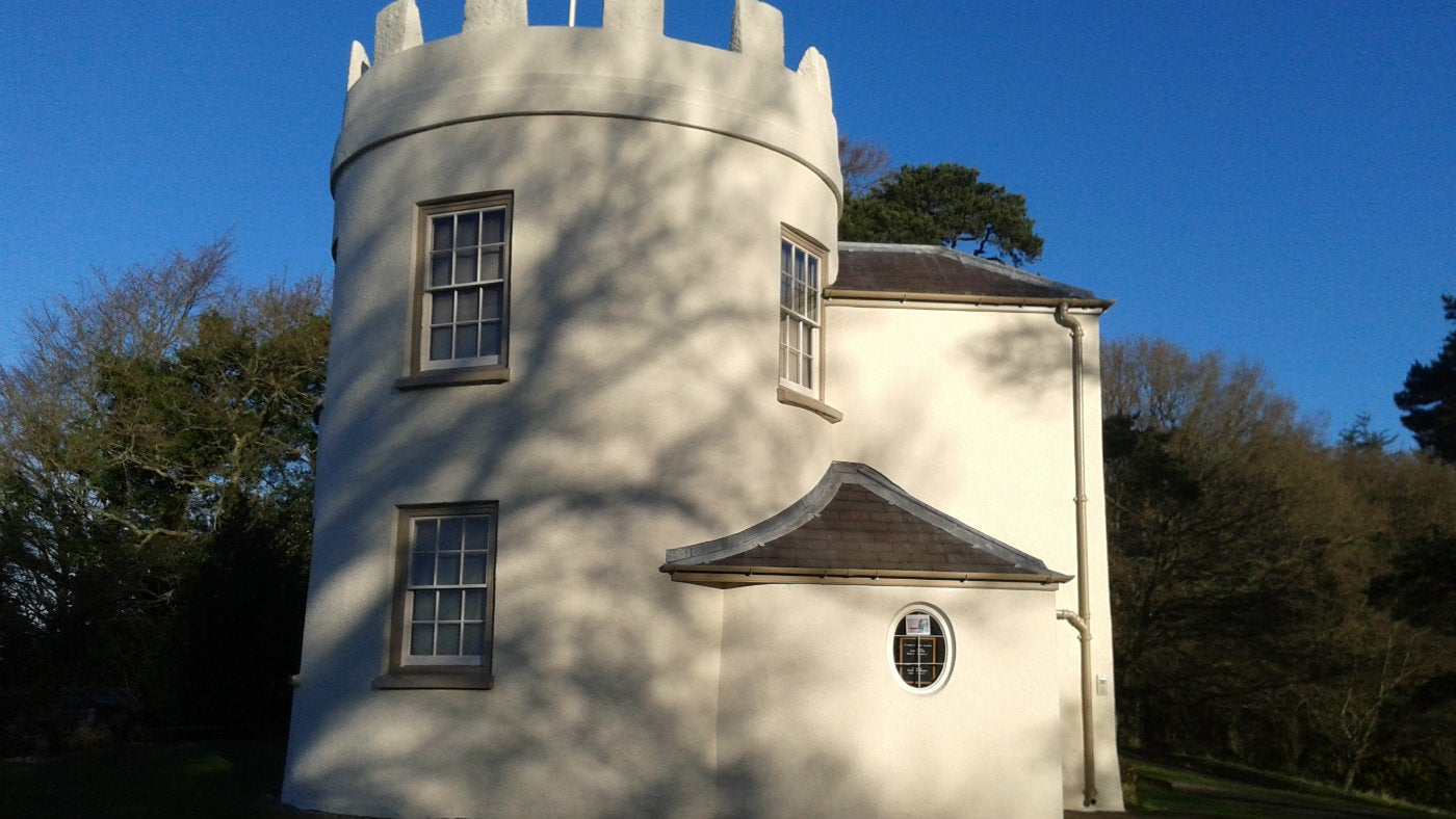 The Kymin's round house, Monmouth