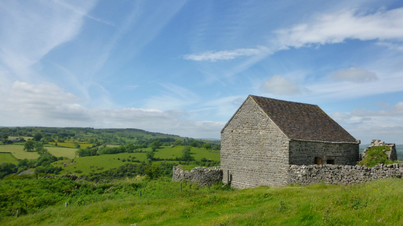 Ecton Engine House in the Peak District
