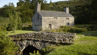 The 16th-century farmhouse Ty Mawr Wybrnant, Conwy, Wales
