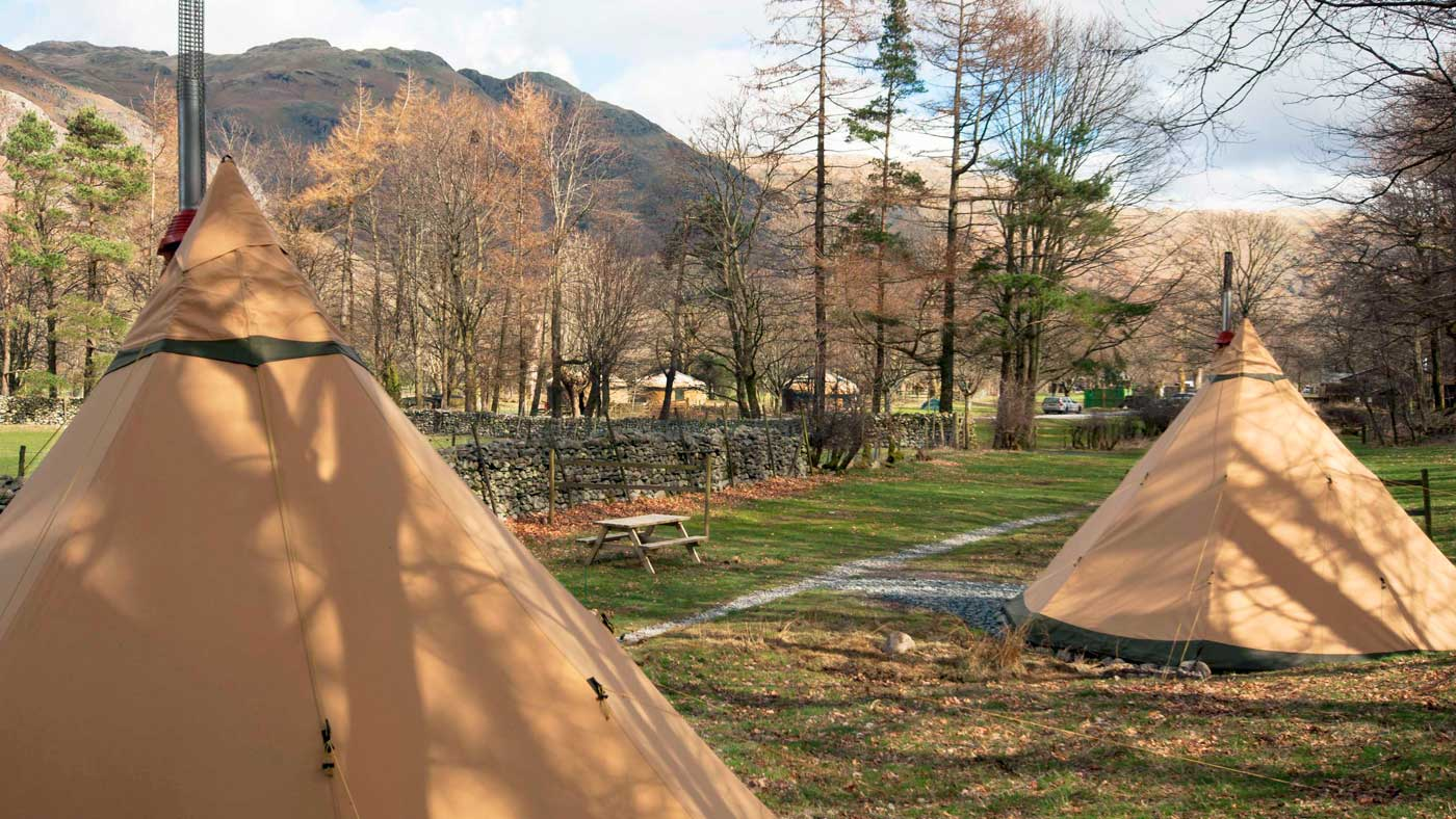 Great Langdale Campsite Glamping National Trust
