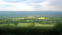 View from the top of One Tree Hill looking across the Kent Countryside