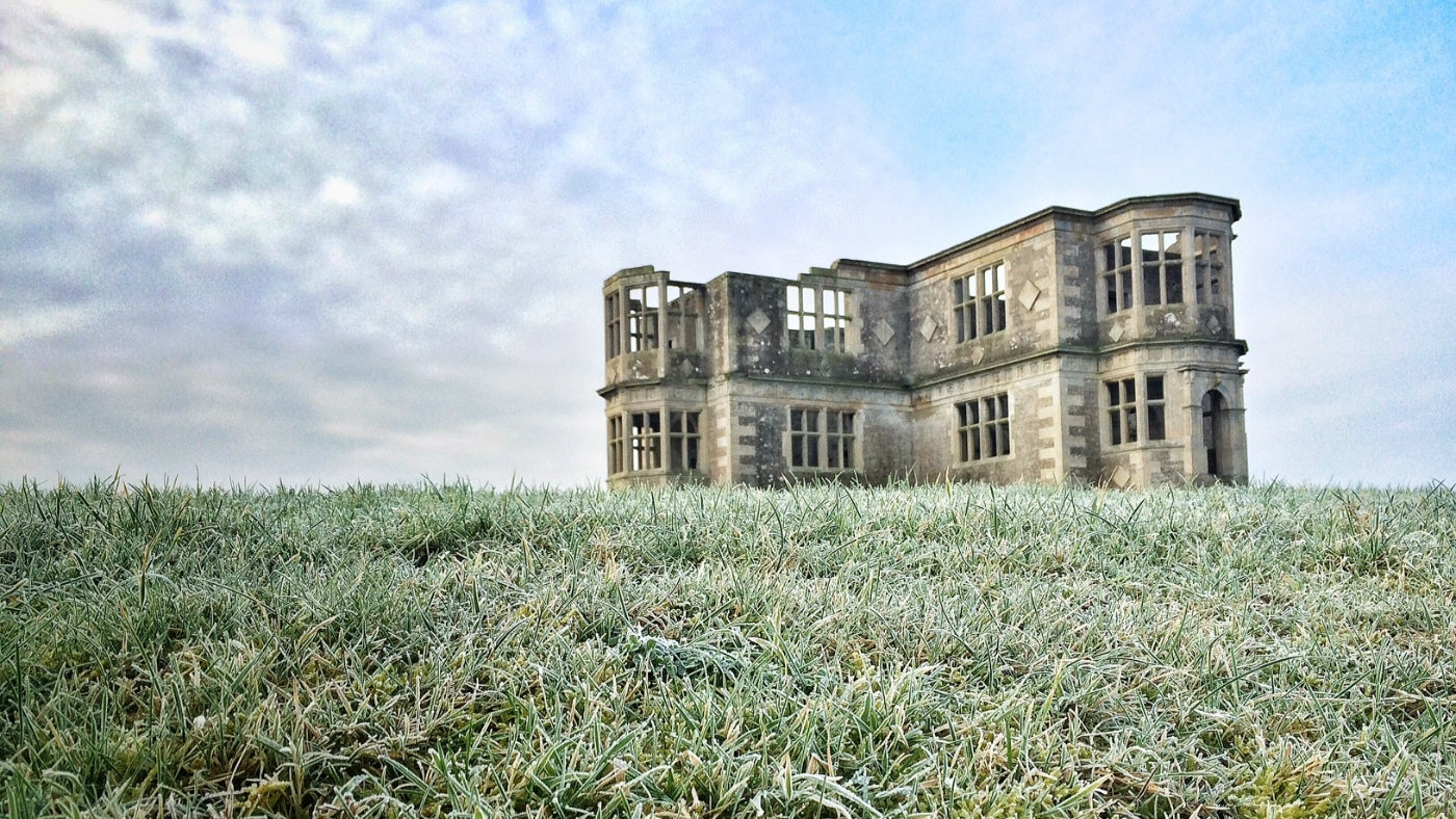 A frosty view of Lyveden