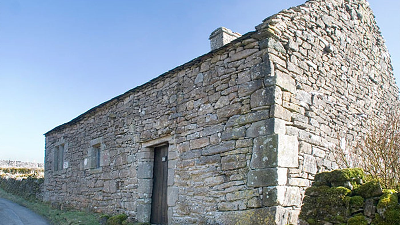 The outside of Keld Chapel