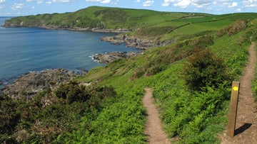 The footpath near Lantivet Bay