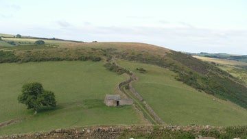 A view looking towards Countisbury Castle
