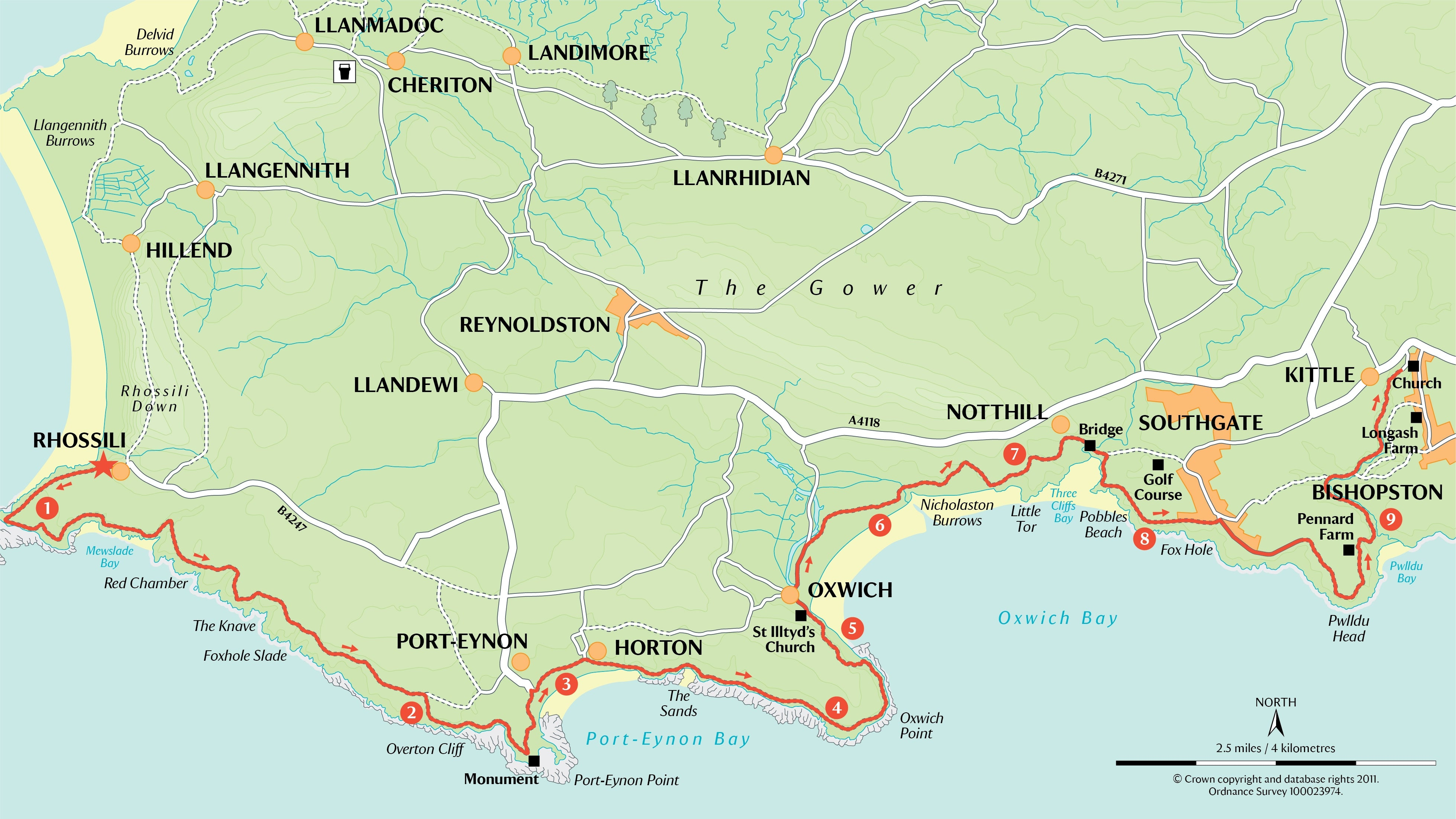 Day two of the Gower Super Challenge walk  National Trust