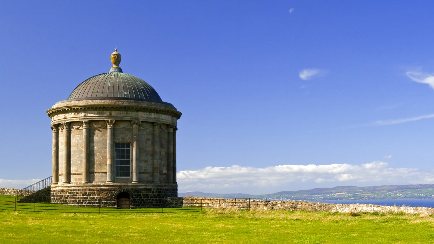 A temple built on scandal at Mussenden Temple | National Trust
