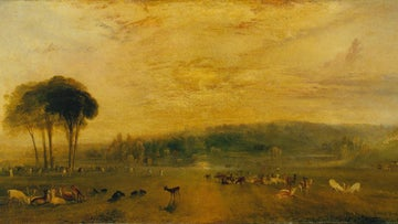 Fighting Bucks, JWM Turner, 1829