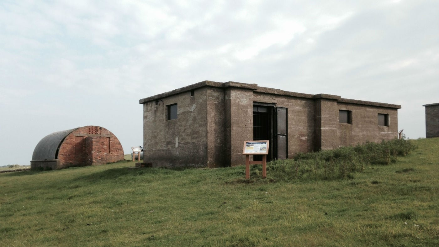Ravenscar Ww2 Radar Station On The Yorkshire Coast