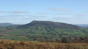 Skirrid Fawr as seen from the Deri ridge, Monmouthshire