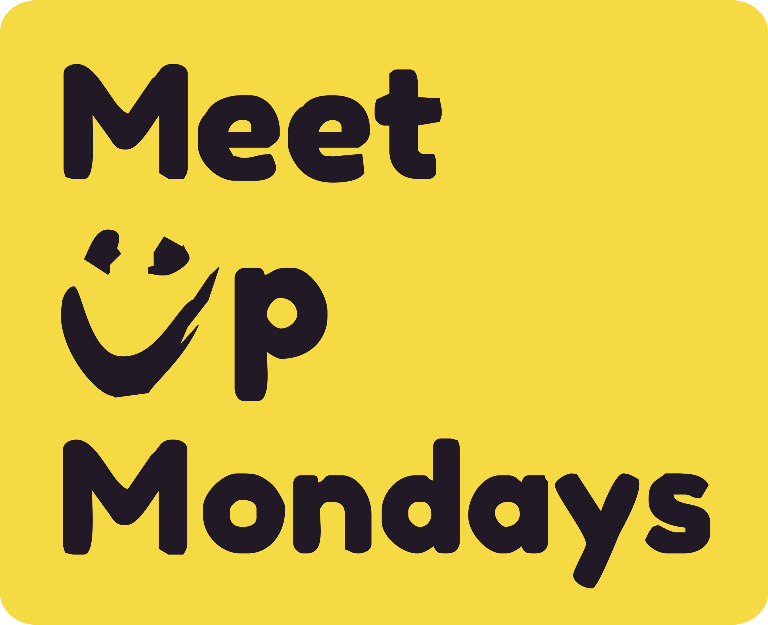 Meet up Mondays