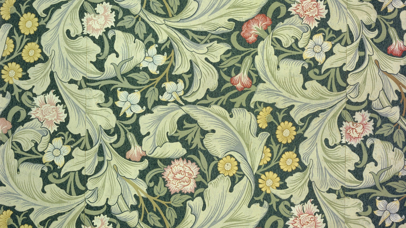 The arts crafts movement that inspired stoneywell for Arts and crafts movement graphic design