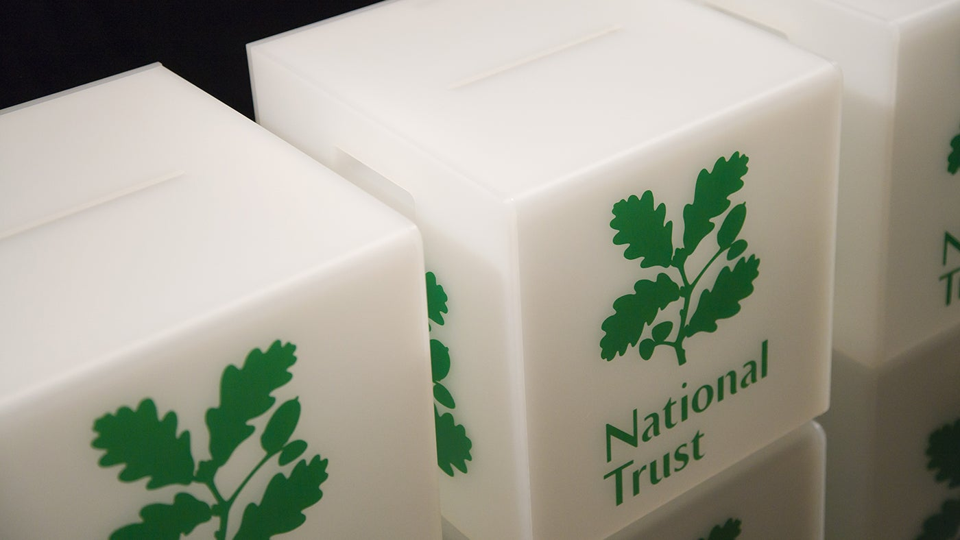 Voting boxes, National Trust AGM 2010