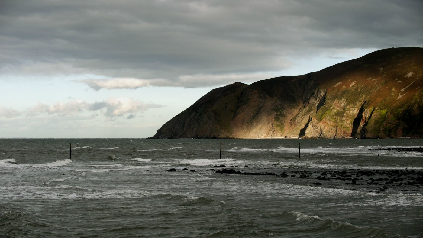 Views of the coast near Lynmouth
